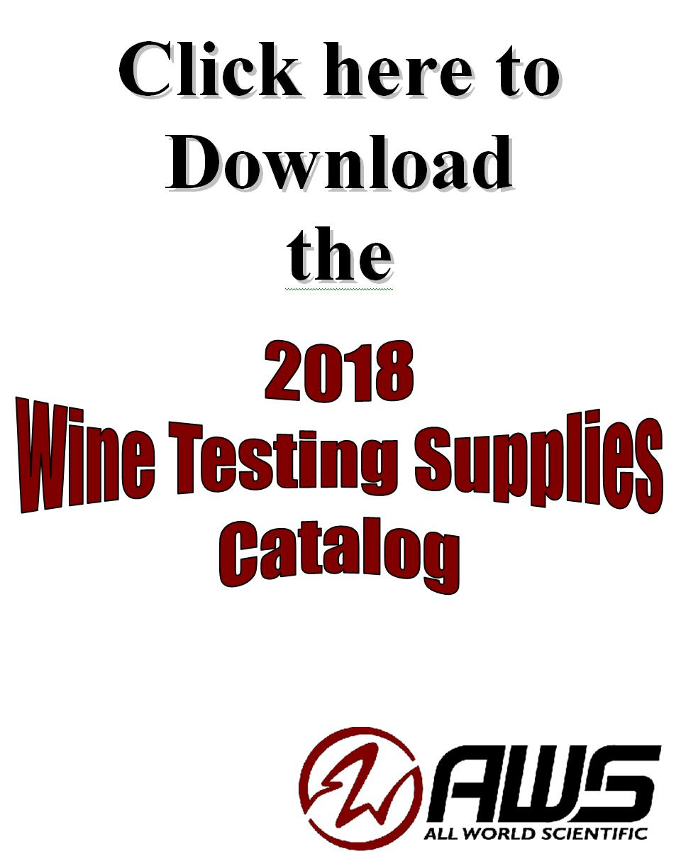 Wine-Testing-Supplies Catalog